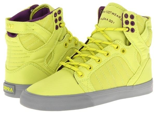 Supra Skytop Acid Yellow