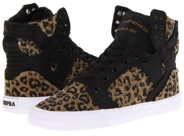 Supra Skytop Leopard