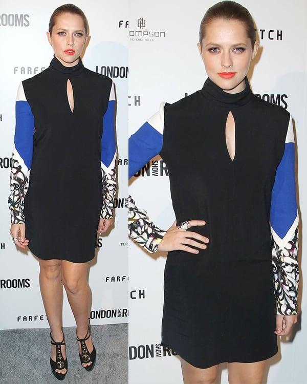 Teresa Palmer at British Fashion Council's International Showcasing Initiative 'London Show Rooms LA' at Thompson Hotel on April 9, 2013