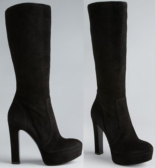 Via Spiga Platform Boots - Janet High Heel