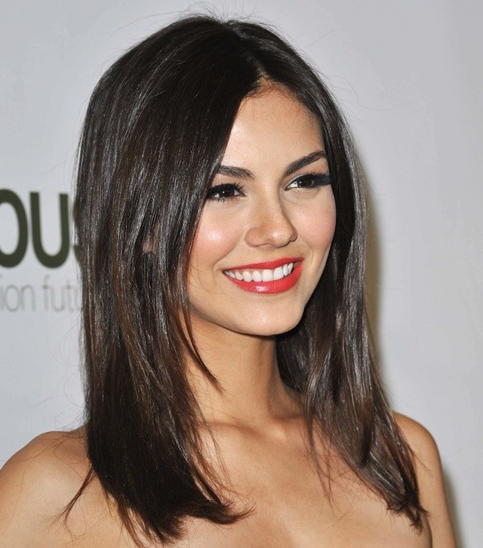 Victoria Justice hosting the H&M Conscious Collection launch party in Los Angeles on April 4, 2013