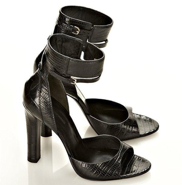 Alexander Wang Aminata Sandals in Black