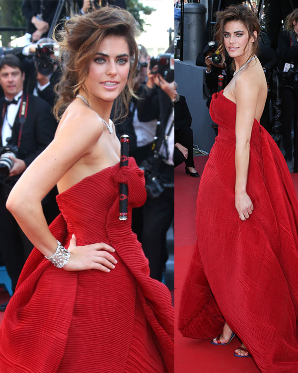 Alyson Le Borges attends Blood Ties Red Carpet during the 66th Annual Cannes Film Festival at the Palais des Festivals on May 20, 2013 in Cannes, France