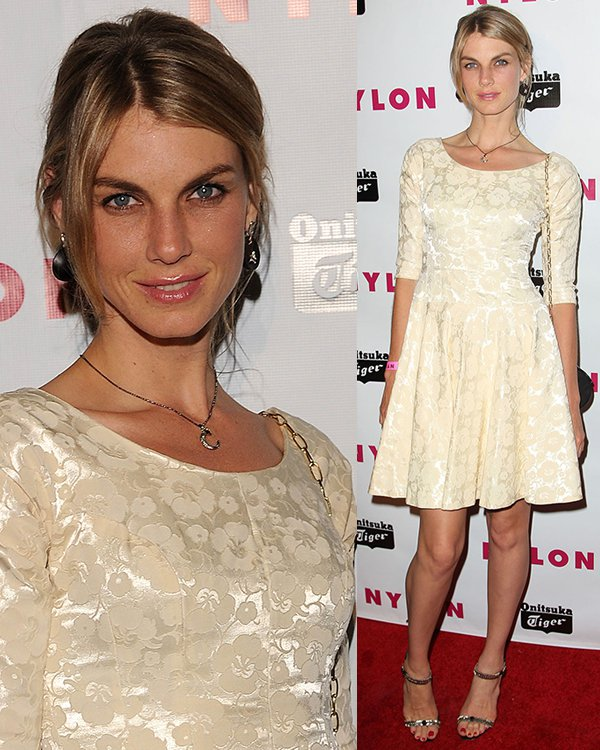 Angela Lindvall at Nylon Magazine Young Hollywood Party on May 14, 2013