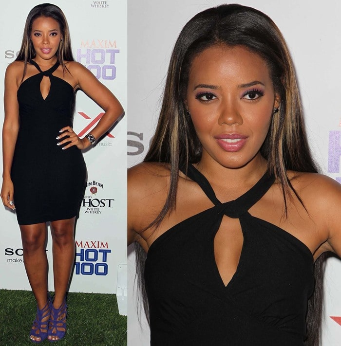 TV personality Angela Simmons attends the Maxim Hot 100 Party at Vanguard on May 15, 2013 in Hollywood, California