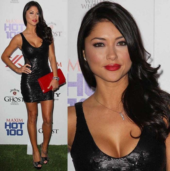 Arianny Celeste attends the Maxim Hot 100 Party at Vanguard on May 15, 2013 in Hollywood, California