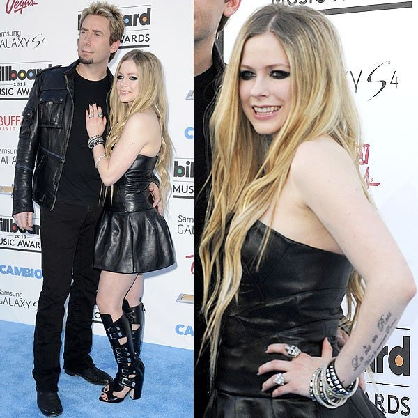 Avril Lavigne 2013 Billboard Music Awards