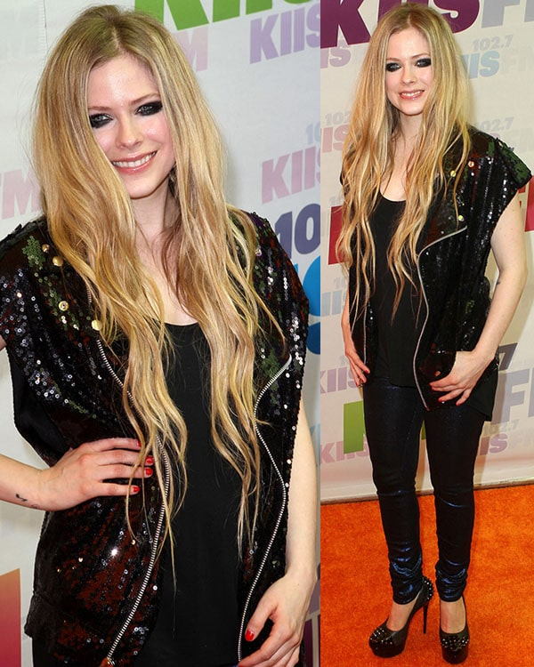 Avril Lavigne at the 2013 Wango Tango presented by 102 7 KIIS FM on May 11, 2013