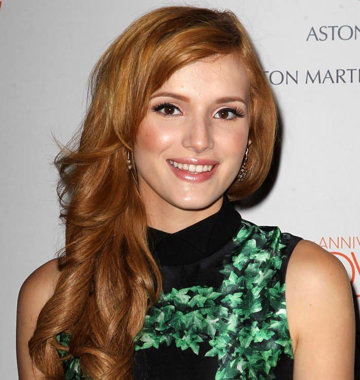 Bella Thorne at the 20th Annual Race To Erase MS 'Love To Erase MS' Gala at the Hyatt Regency Century Plaza in Century City on May 3, 2013