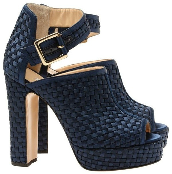 "Bionda Castana ""Christa"" Booties in Navy"