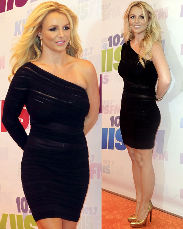 Britney Spears at the 2013 Wango Tango presented by 102 7 KIIS FM on May 11, 2013