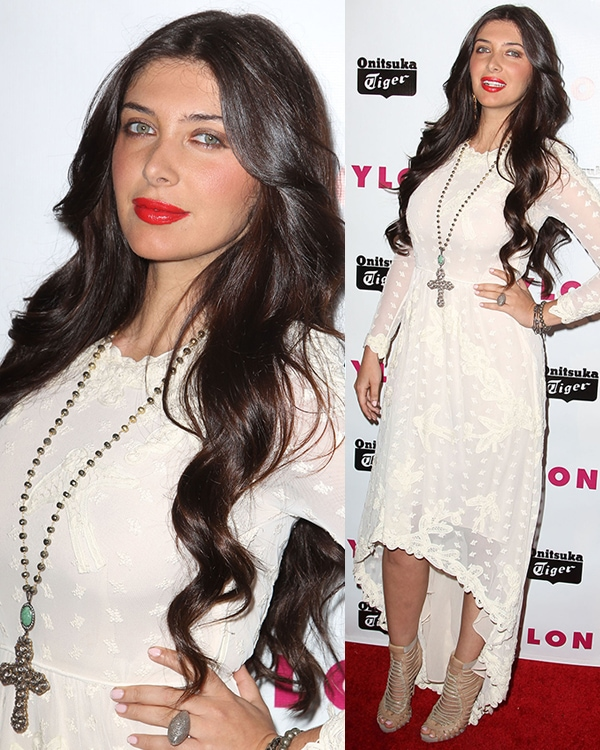 Brittny Gastineau at Nylon Magazine Young Hollywood Party on May 14, 2013