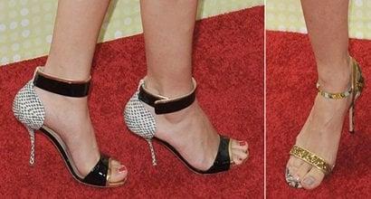 7 Sexy Celebrity Feet Heels At Radio Disney Music Awards