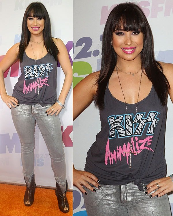 Cheryl Burke at the 2013 Wango Tango presented by 102 7 KIIS FM on May 11, 2013