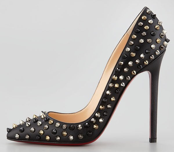Christian Louboutin Pigalle Spikes Pumps