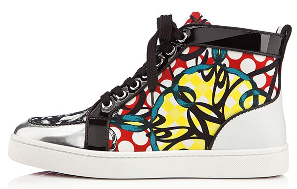 Christian Louboutin Printed Rantus Orlato Sneakers
