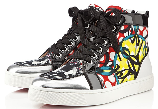 Christian Louboutin Printed Rantus Orlato Sneakers2
