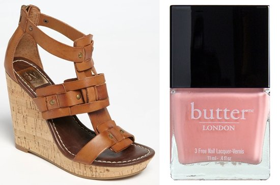 DV by Dolce Vita 'Tex' Sandal with butter LONDON Kerfuffle Polish
