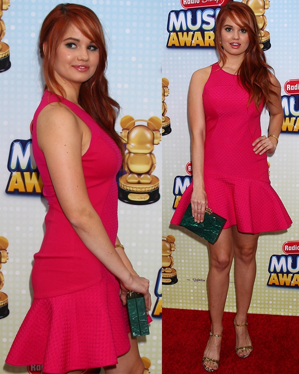 Debby Ryan at the Radio Disney Music Awards 2013 at the Nokia Theater on April 27, 2013