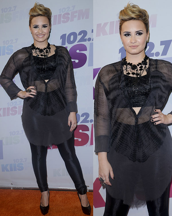 Demi Lovato at the 2013 Wango Tango presented by 102 7 KIIS FM on May 11, 2013