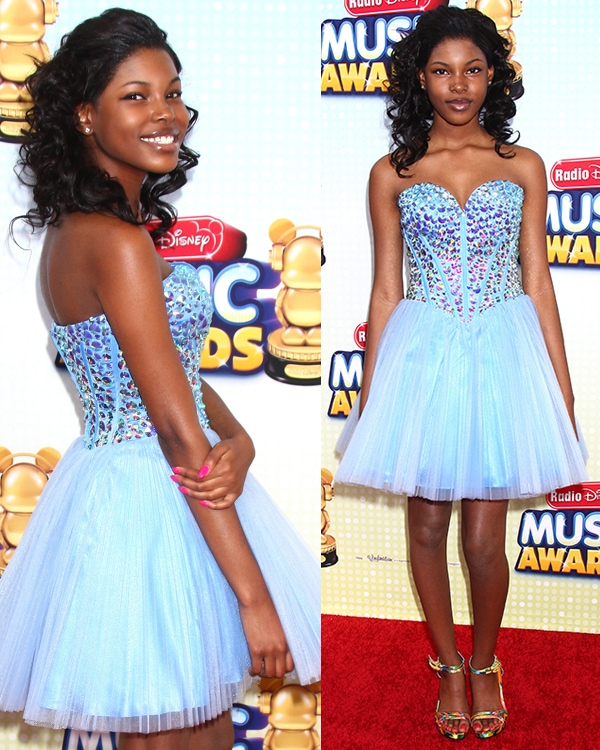 Diamond White at the Radio Disney Music Awards 2013 at the Nokia Theater on April 27, 2013