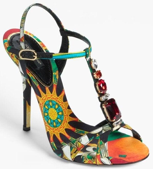Dolce&Gabbana T-Strap Sandals