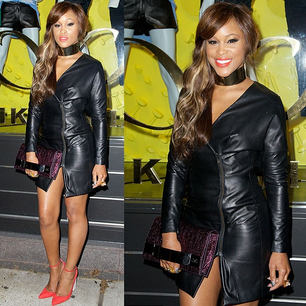 Eve attends the Eve album listening party at Monika Chiang on May 9, 2013, in New York City