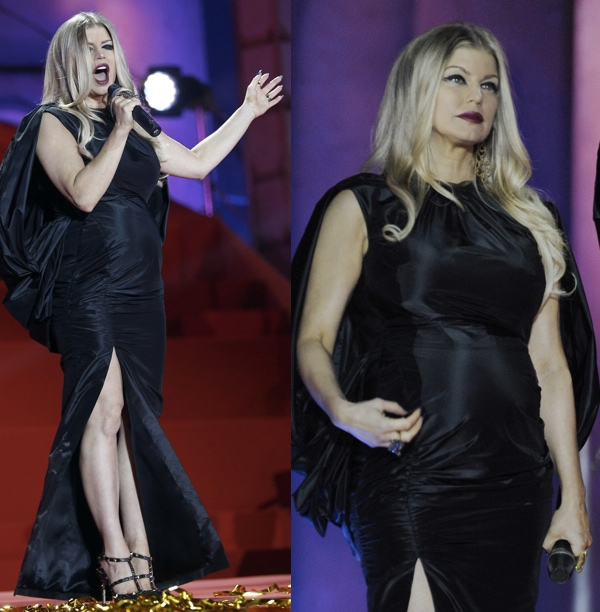 Fergie (a.k.a. Stacy Ferguson) performing at the 2013 Life Ball Aids Charity Gala in Vienna, Austria on May 26, 2013