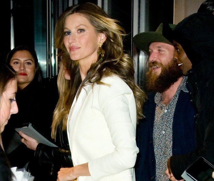 Gisele Bundchen at the Dolce & Gabbana Fifth Avenue Flagship Store Opening