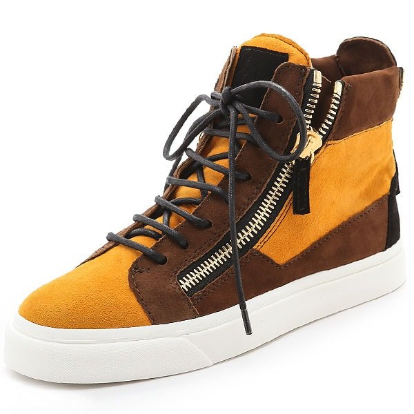 Giuseppe Zanotti Double-Zip Sneakers