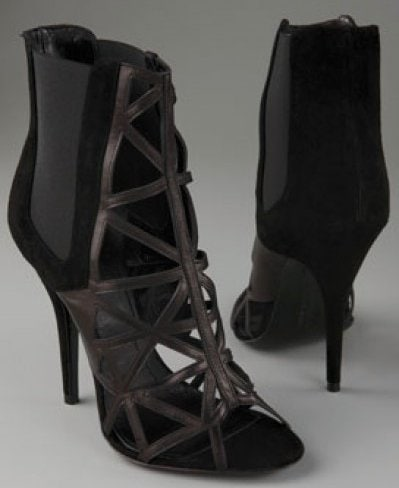 Givenchy Bird Cage Ankle Booties