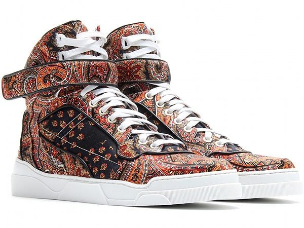 Givenchy Printed High Top Sneakers