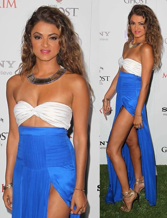 Golnesa Gharachedaghiattends the Maxim Hot 100 Party at Vanguard on May 15, 2013 in Hollywood, California