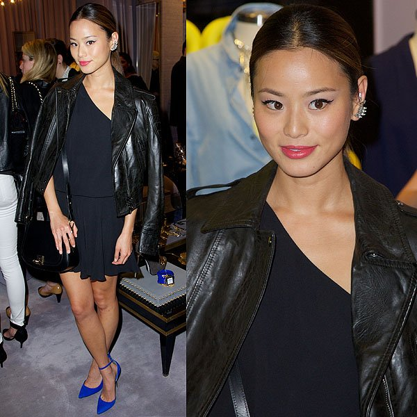 Jamie Chung Eve Lip Lock listening party