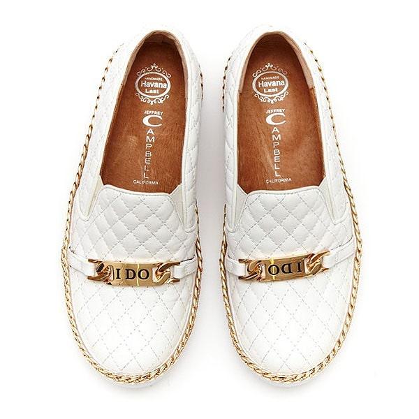 "Jeffrey Campbell ""Alva, I Do"" Slip-On Sneakers"