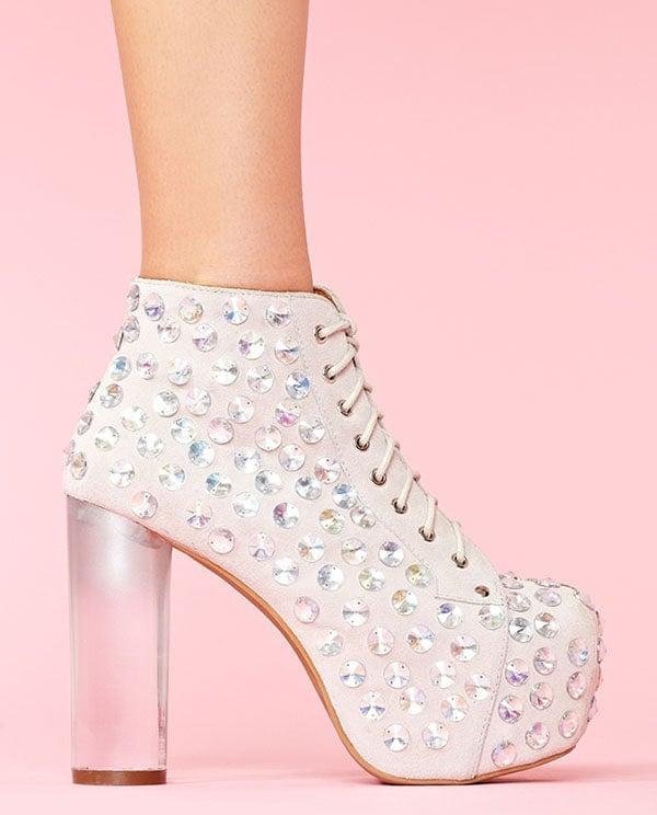 Jeffrey Campbell Lita Jeweled Platform Boots