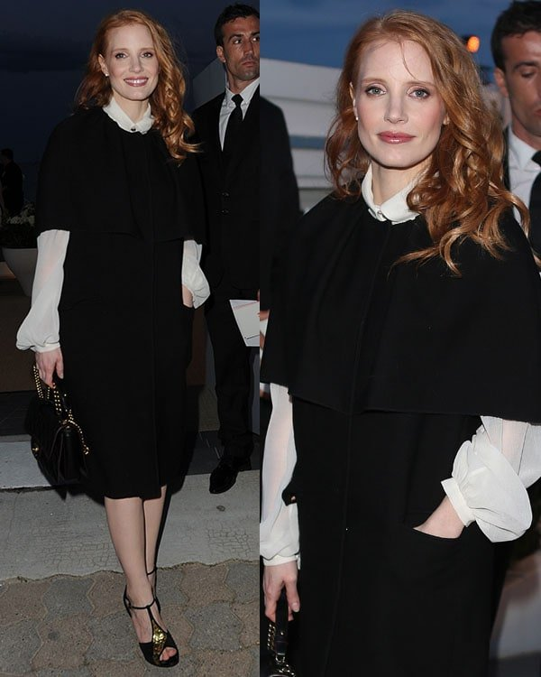 Jessica Chastain Vanity Fair Party