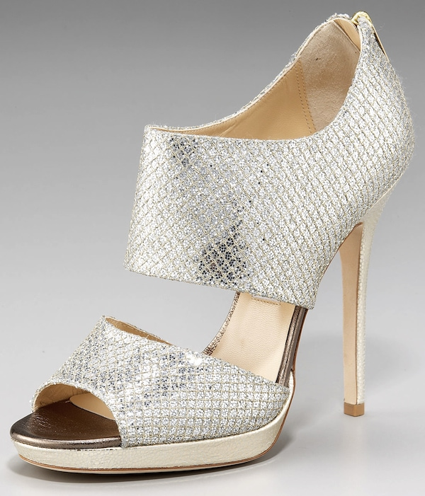 "Jimmy Choo ""Private"" Double-Banded Booties"