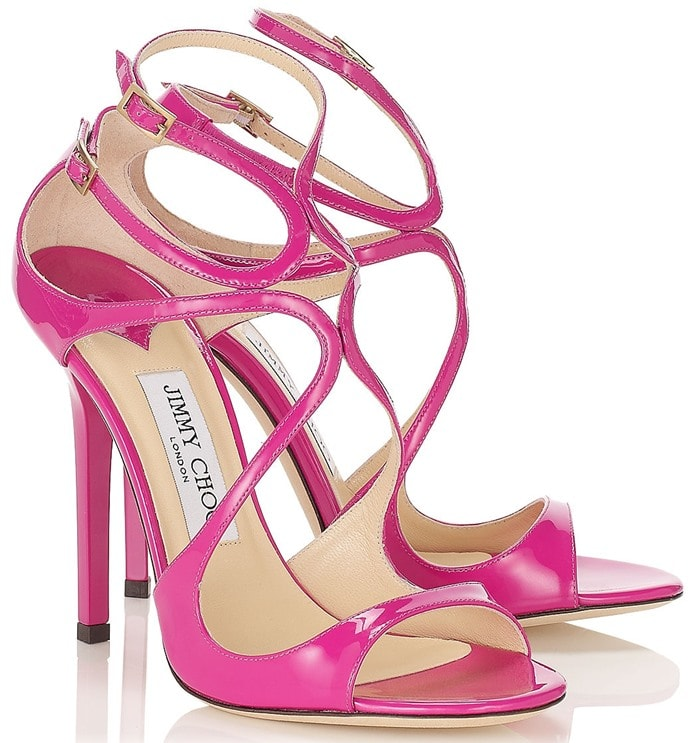 Jimmy Choo Purple Lance