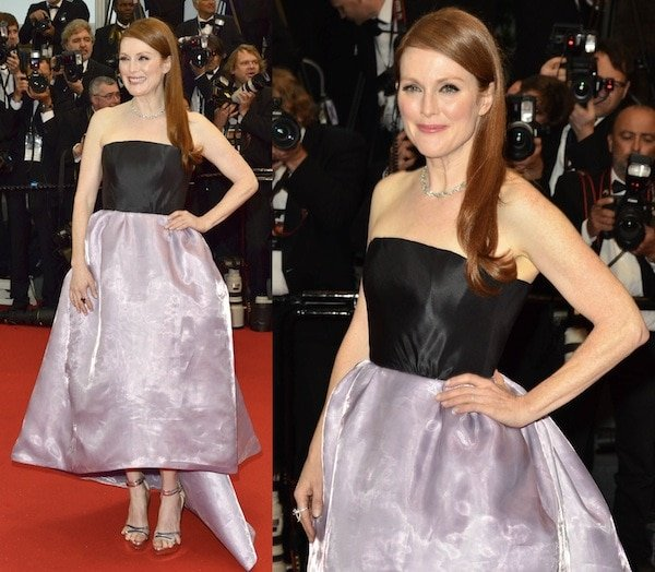 Julianne Moore missing big at the 66th Annual Cannes Film Festival Opening Ceremony on May 15, 2013