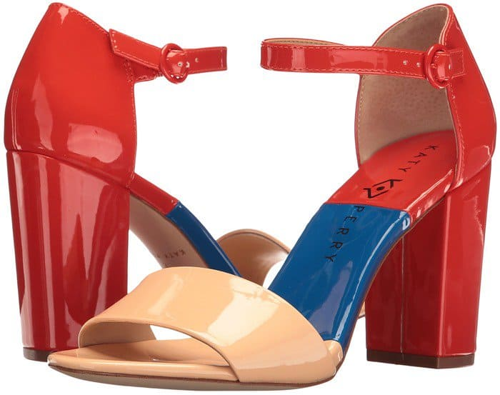 Katy Perry 'The Liz' in Peach Patent