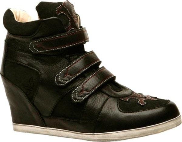 Koolaburra Preston in Black Leather