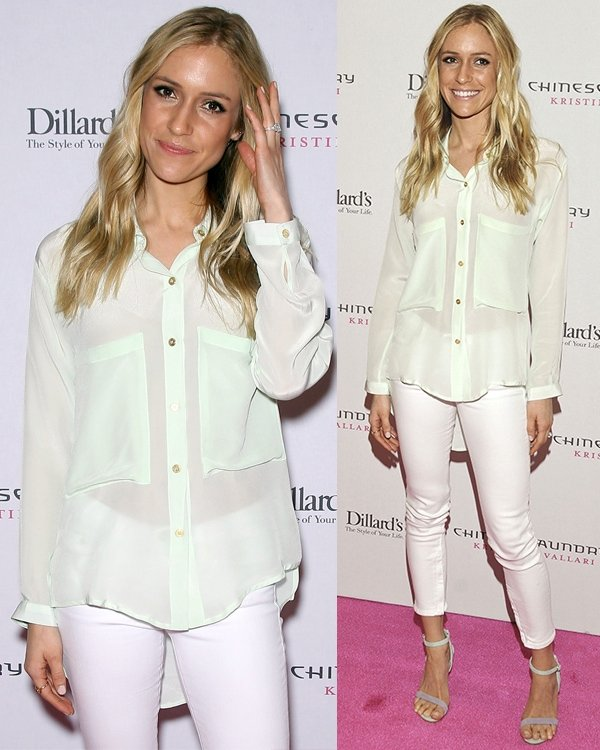 Kristin Cavallari promotes 'Chinese Laundry By Kristin Cavallari' shoes at Dillards inside the Fashion Show Mall Las Vegas on May 4, 2013