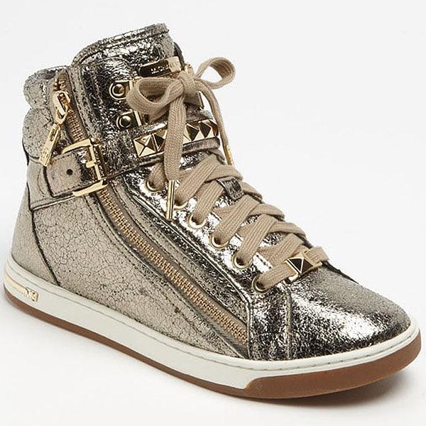 """MICHAEL Michael Kors """"Glam"""" High-Top Sneakers"""