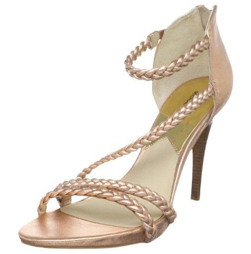 "Michael Michael Kors ""Alexa"" Sandals in Rose Gold"