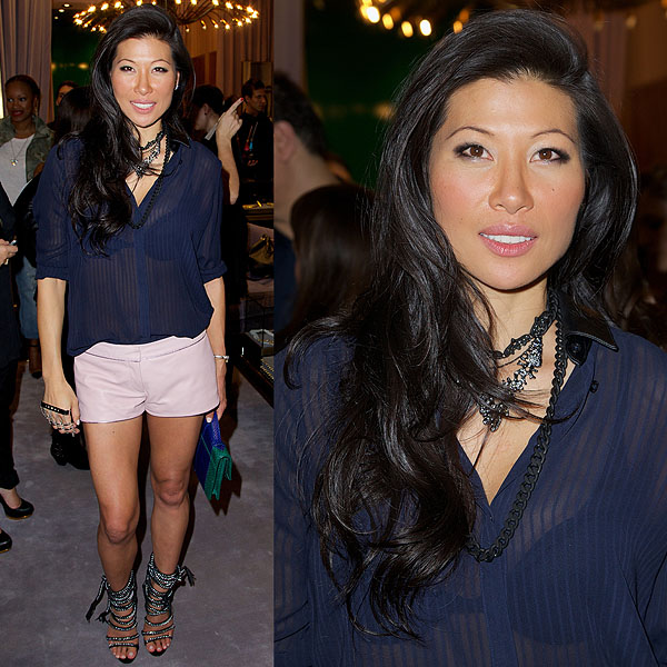 Monika Chiang attends the Eve album listening party