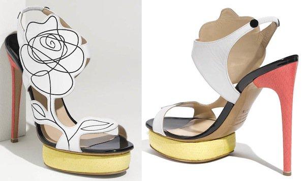 Nicholas Kirkwood Flower Sandals