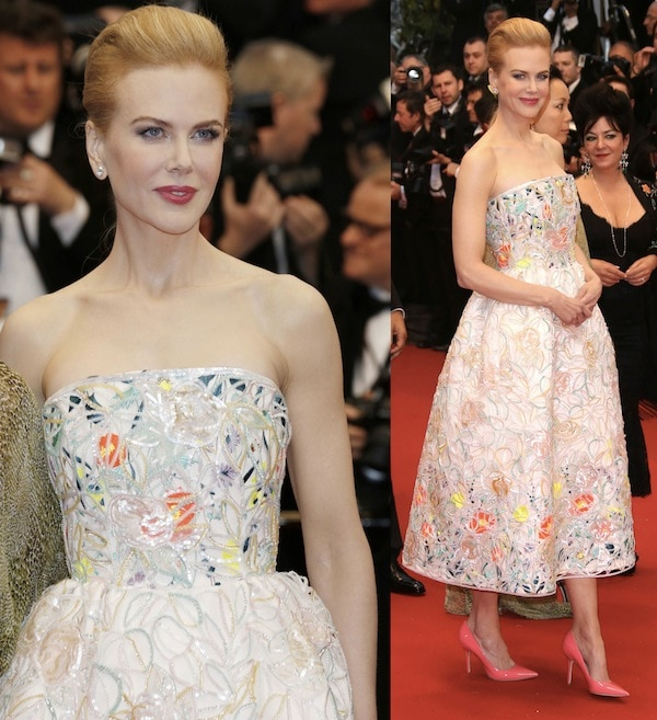 Nicole Kidman in Dior all the way for the opening ceremony of the 66th Annual Cannes Film Festival