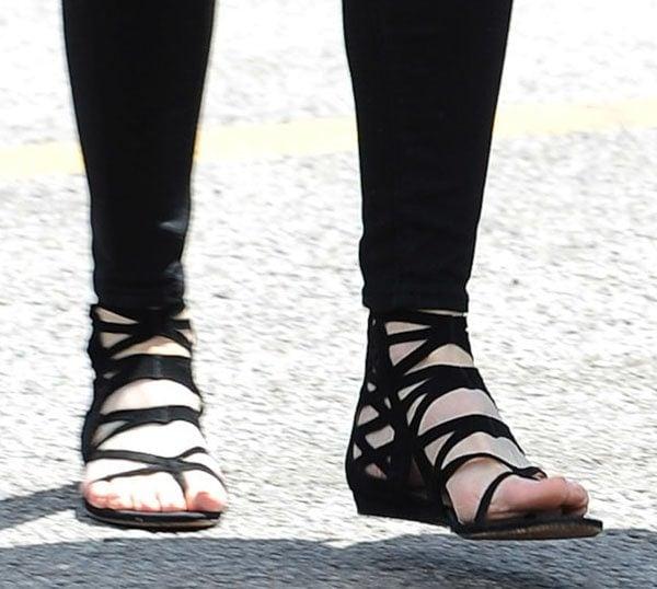 "Nicole Kidman rockingflat Jimmy Choo ""Vernie"" sandals in Cannes"
