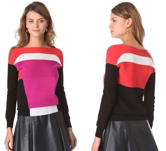 Ohne Tiel Colorblock Pullover